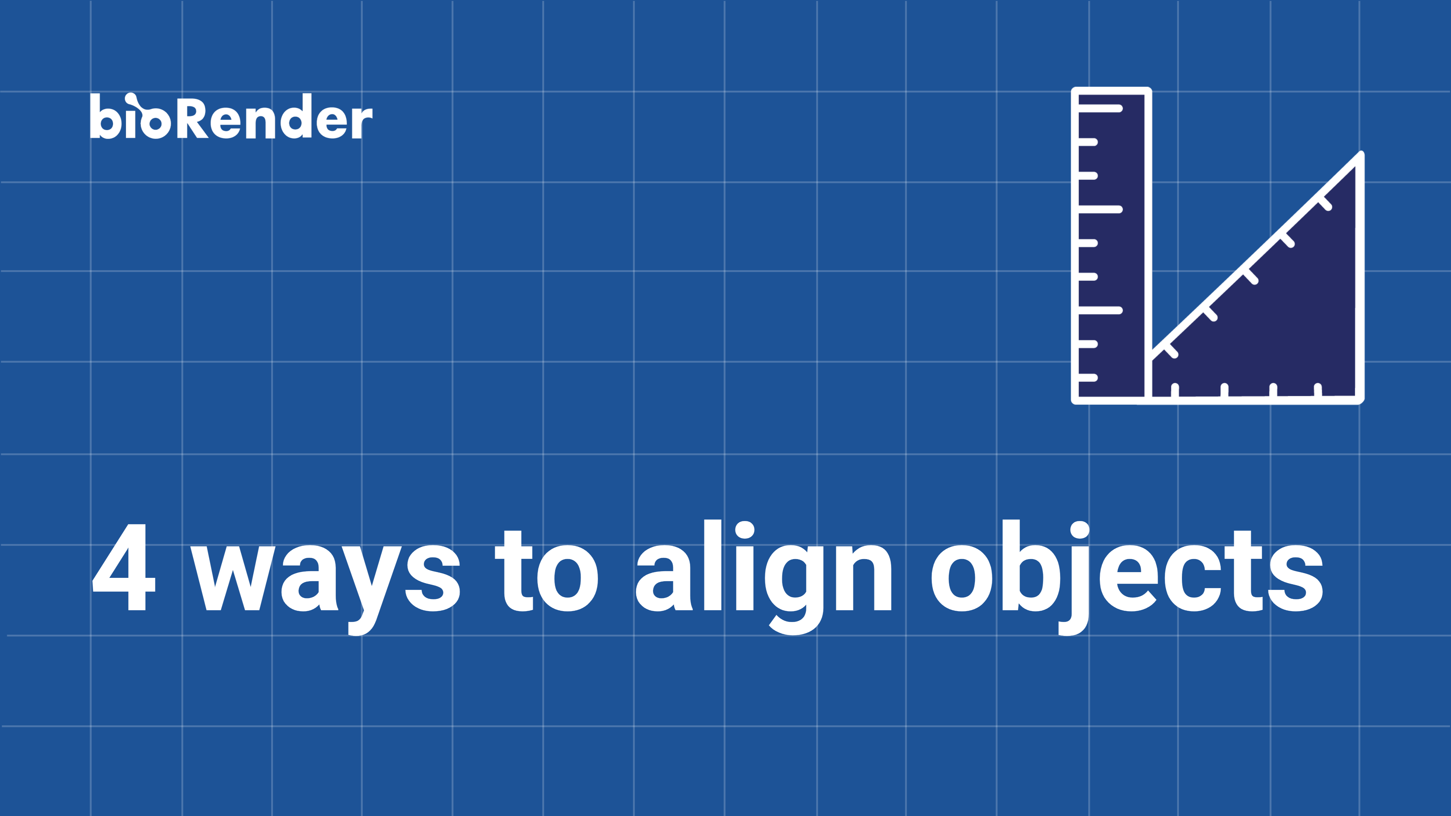 4 ways to align objects