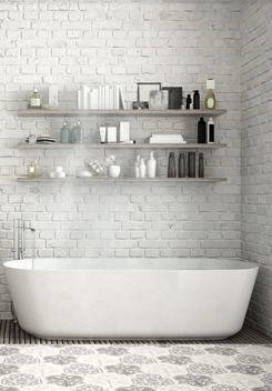 Image of bathroom on home page