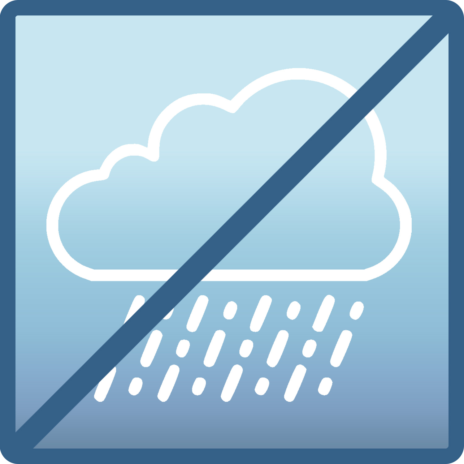 "Icon for ""No Water Intrusion"""