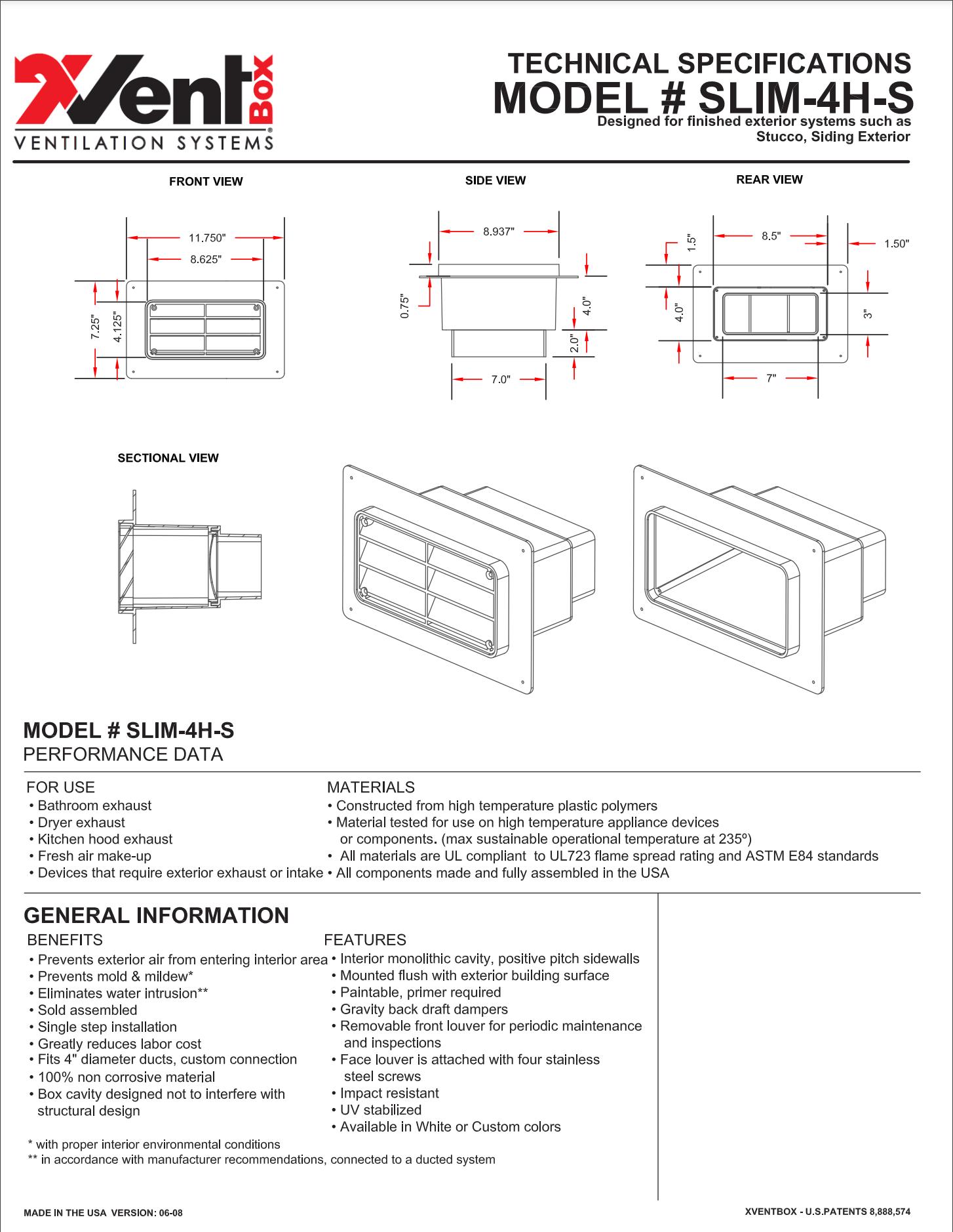 Technical Specs Image