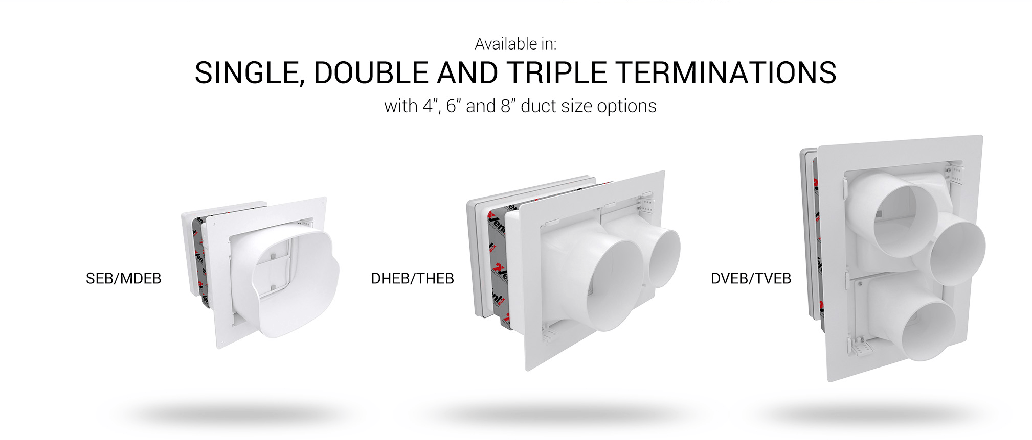 Available in Single, Double, and Triple Terminations