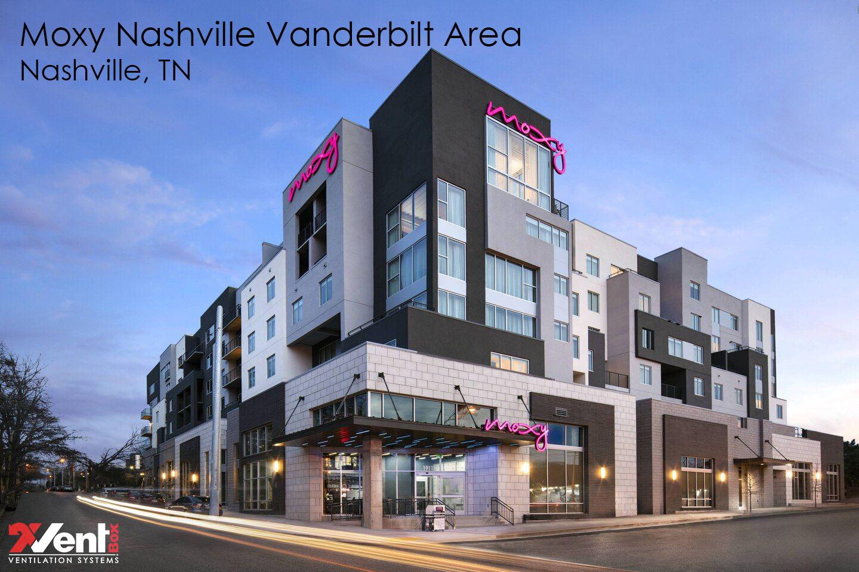 Moxy Nashville Vanderbilt Area