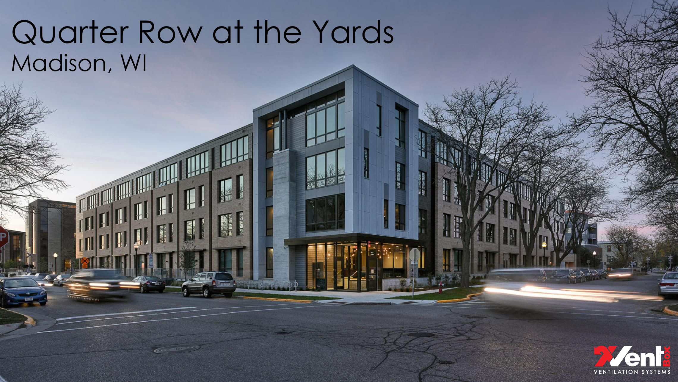 Quarter Row at the Yards