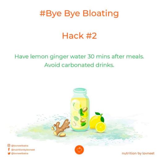 Hack tip to avoid bloating