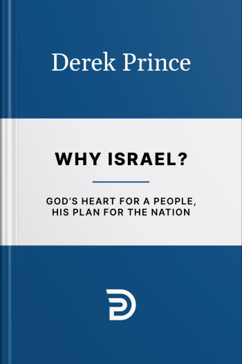 """The """"Why Israel?"""" book cover (international edition) by Derek Prince"""