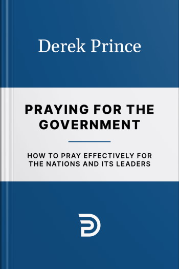 """The """"Praying for the Government"""" book cover (international edition) by Derek Prince"""