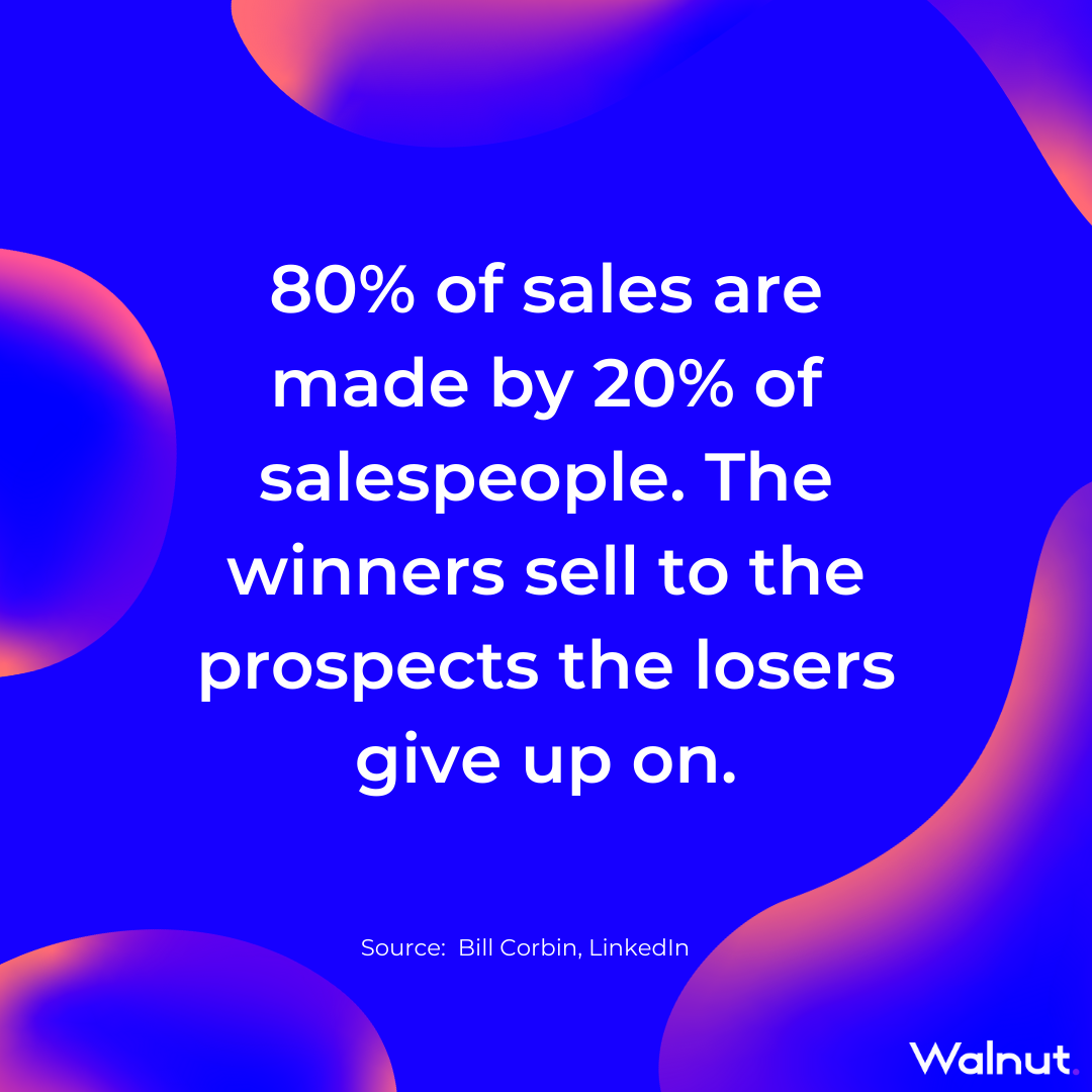 Sales Stats: Good VS Bad Salespeople