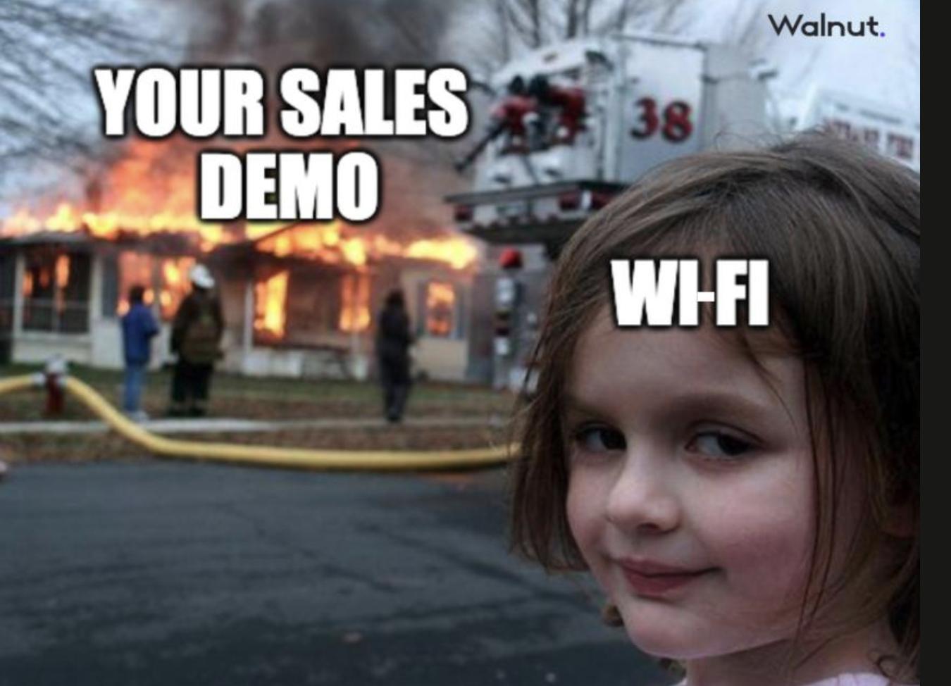 meme sales: demo wi-fi bug