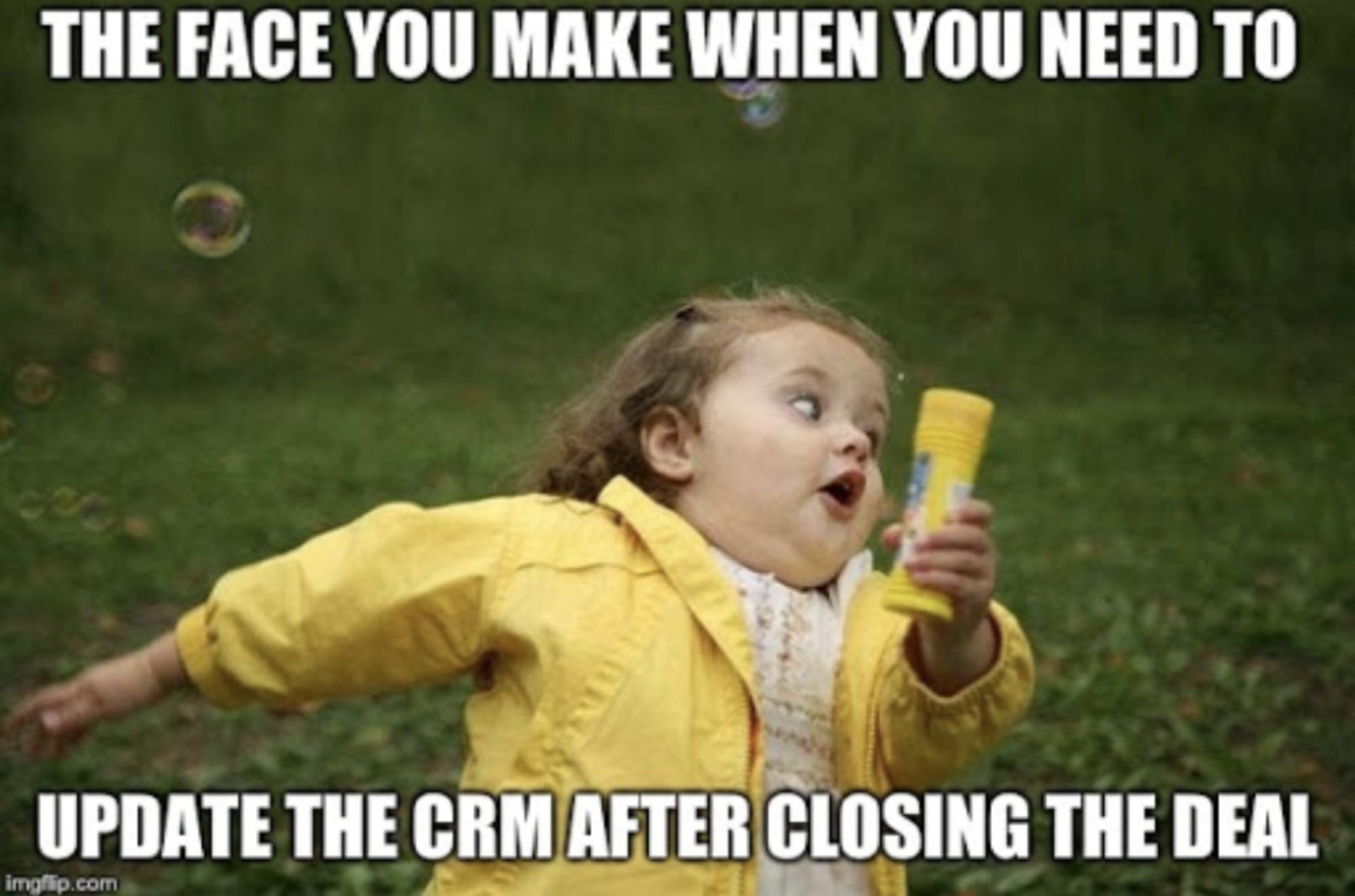 meme sales: CRM