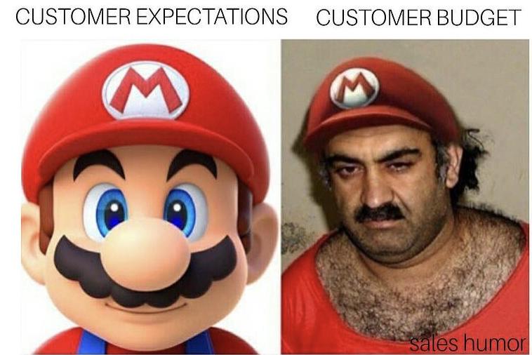 meme sales: budget