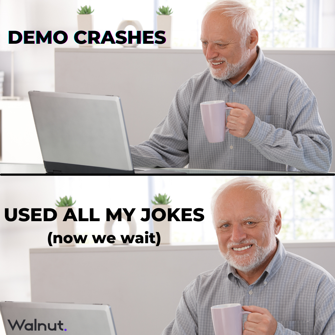 Meme Sales: Demo crashes