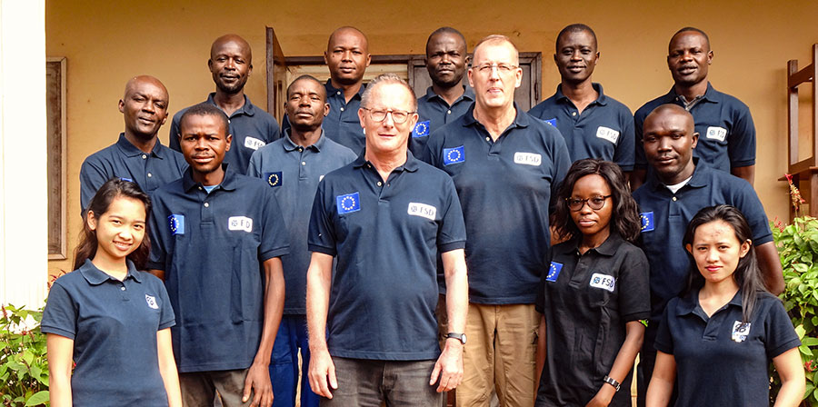 Ein Gruppenfoto der FSD-Mitarbeiter