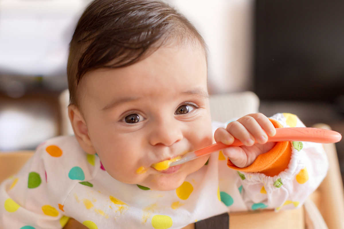weaning foods