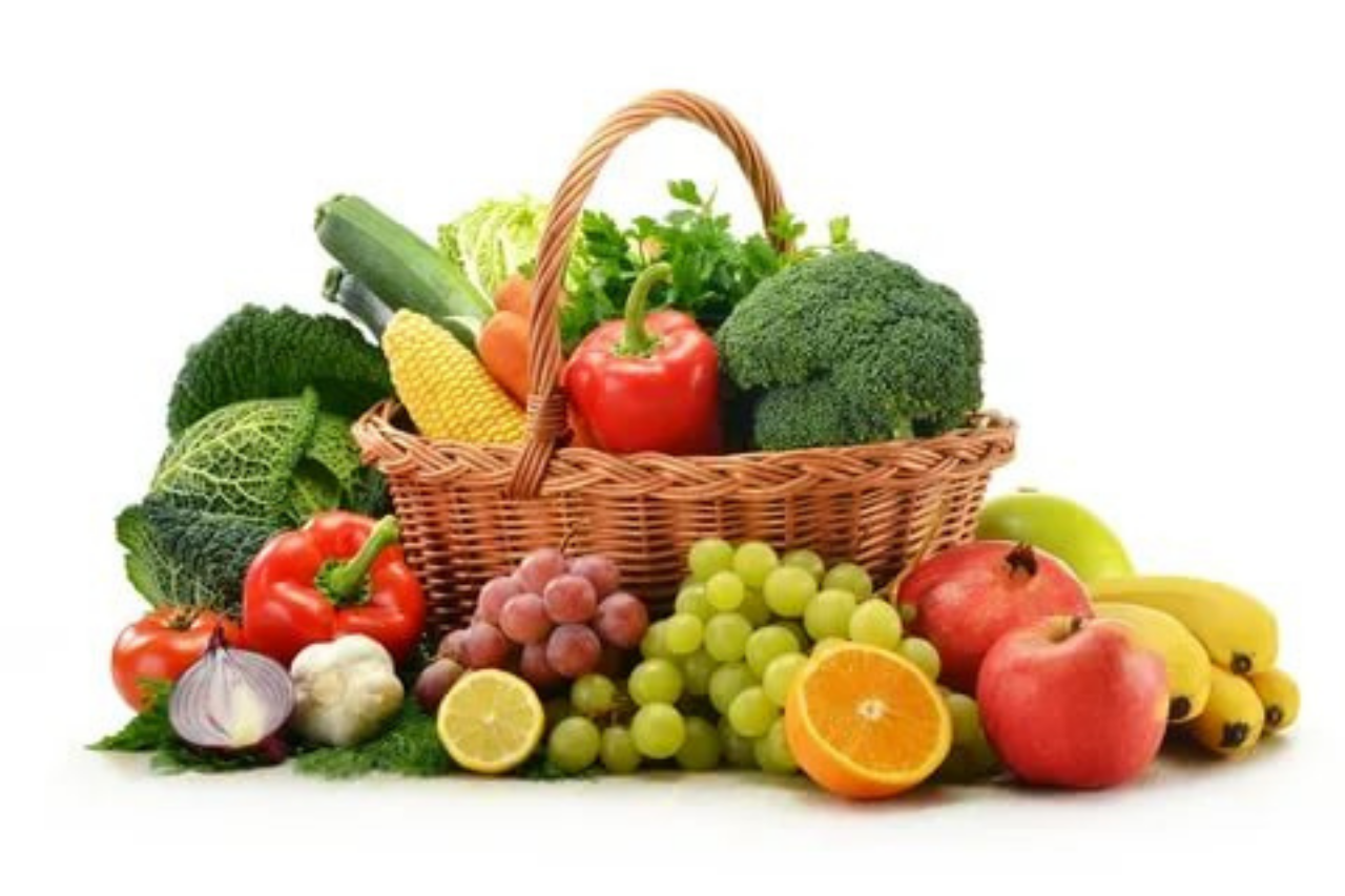 Make Fruits And Vegetables The Heart Of You Plate