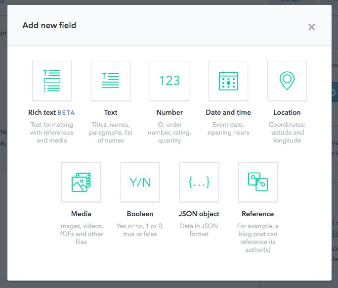 add new field screenshot