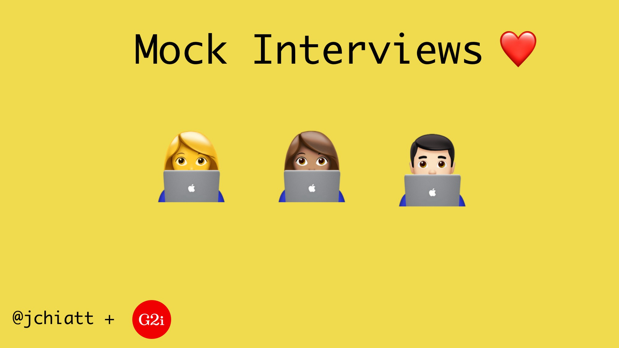 Helping Frontend Engineers Prepare For Interviews, With Mock Interviews