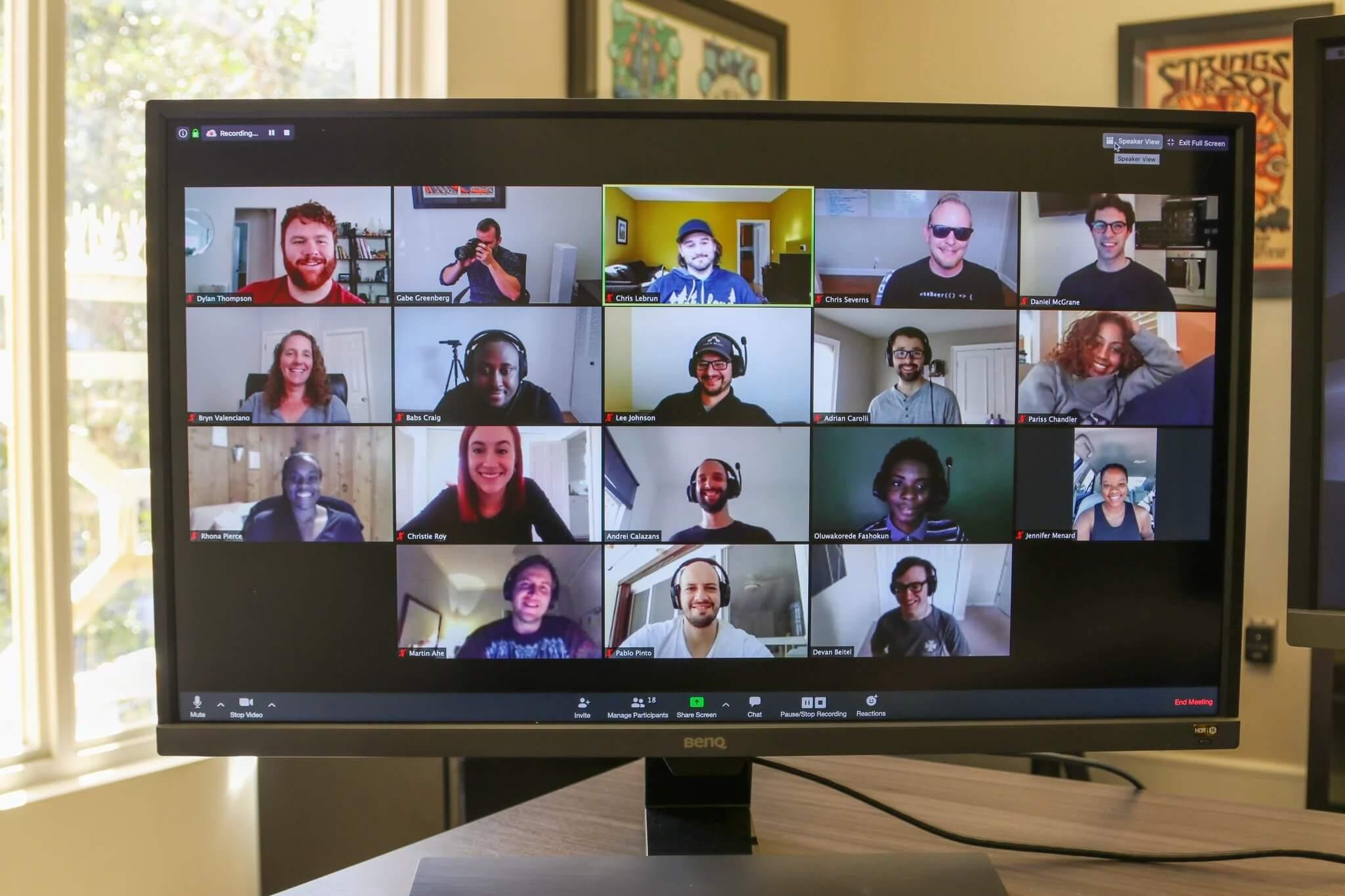 Developer Zoom Meeting