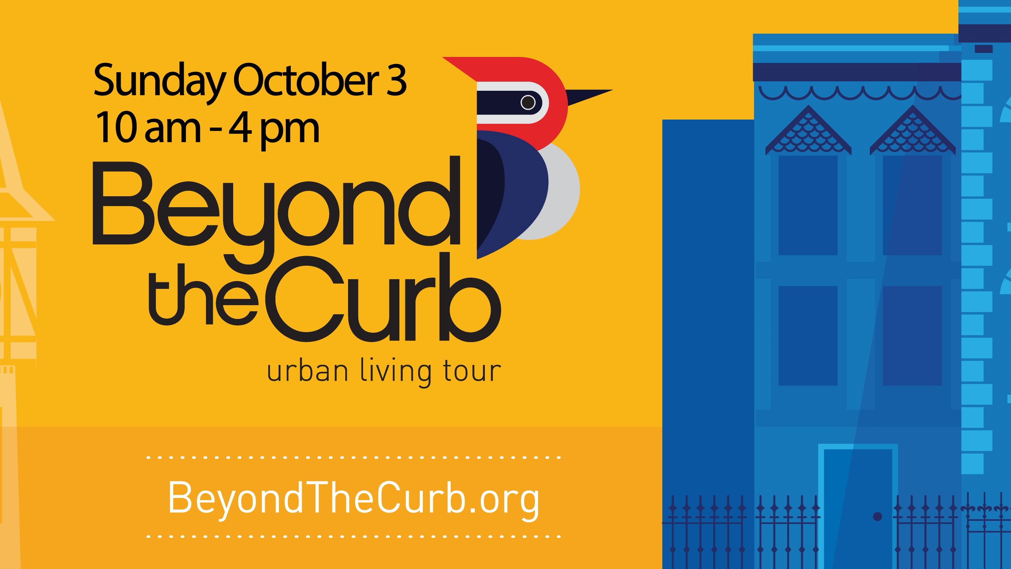 Come beyond the curb on October 3