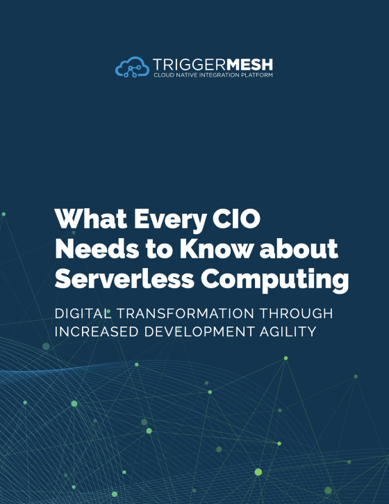 What Every CIO Needs to Know About Serverless