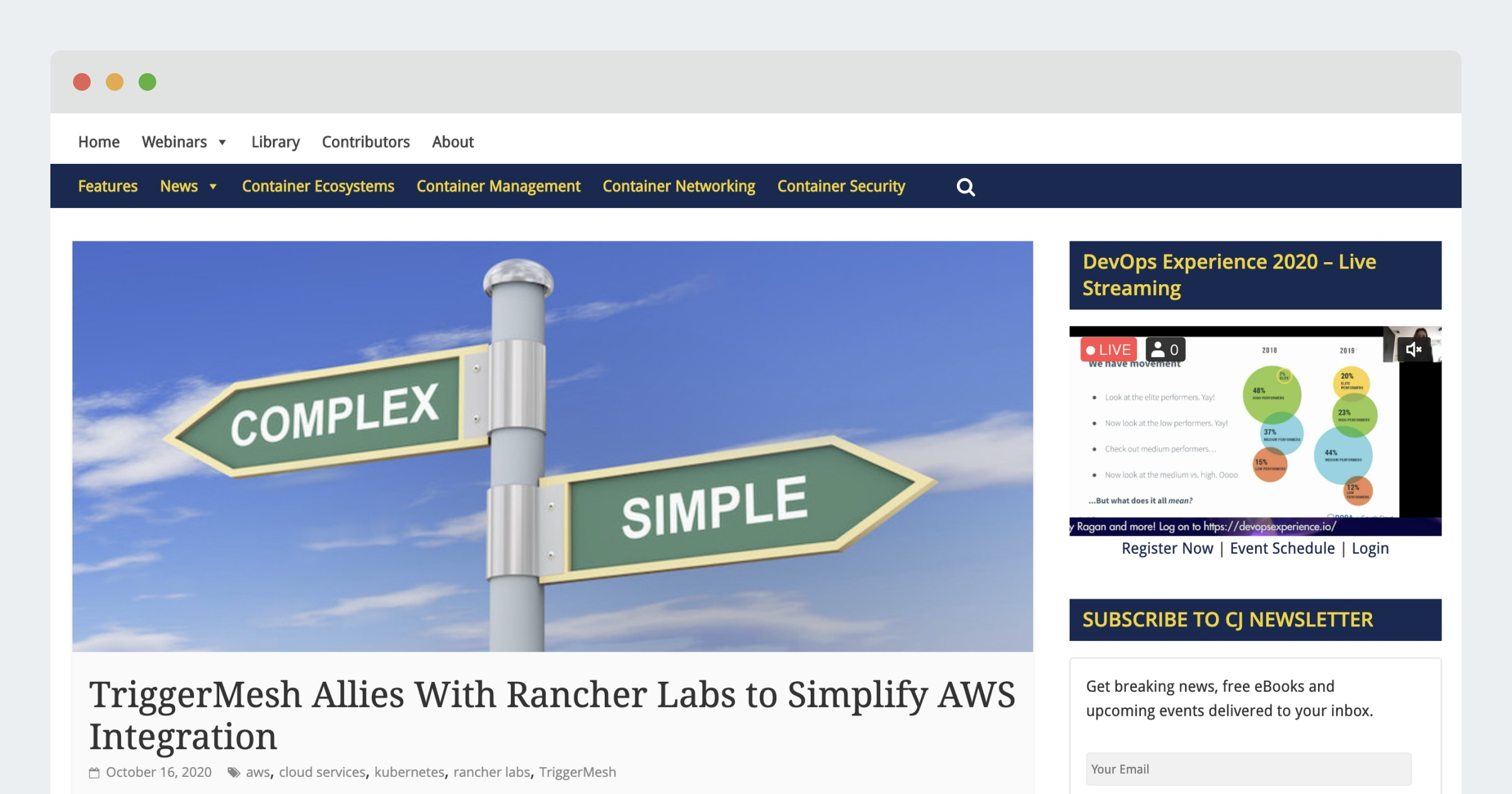 Container Journal – TriggerMesh Allies With Rancher Labs to Simplify AWS Integration