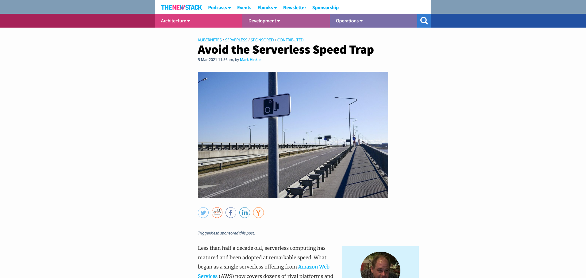 TheNewStack-Avoid the Serverless Speed Trap