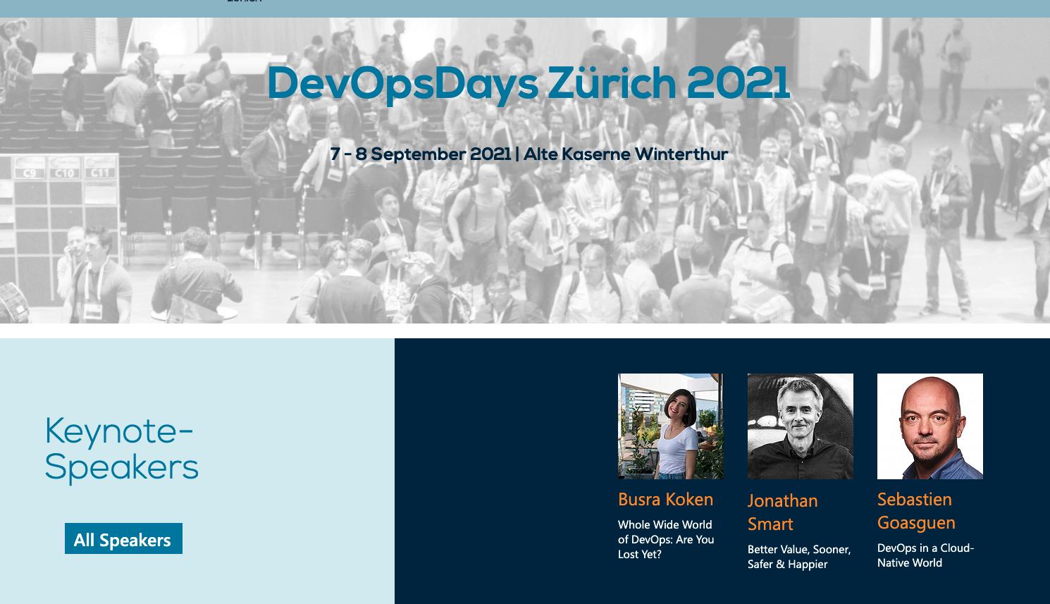 Sept. 7: DevOpsDays Zürich 2021 - TriggerMesh Sebastien Goasguen Keynote Speaker