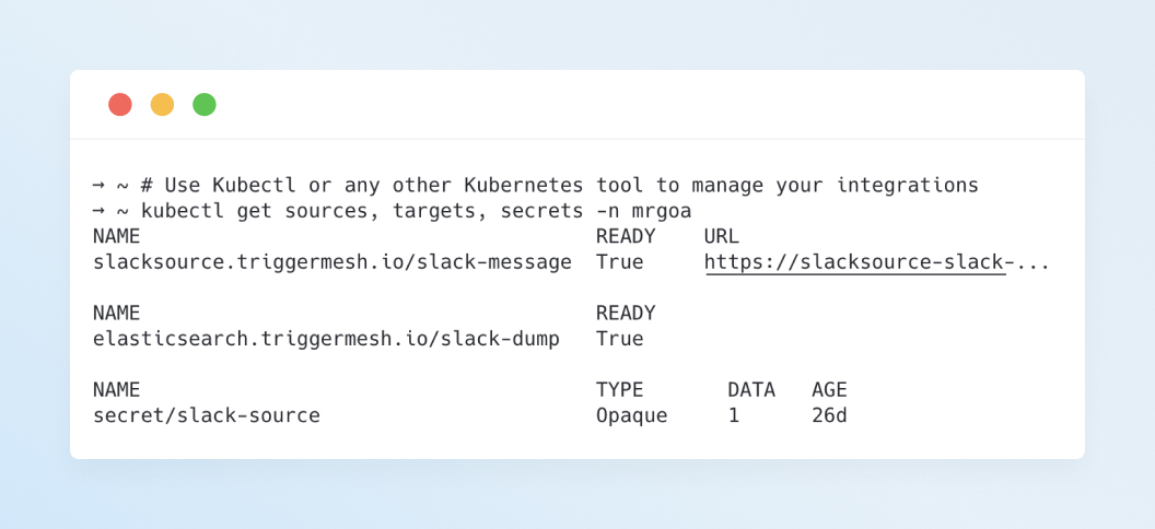 Kubernetes Native API