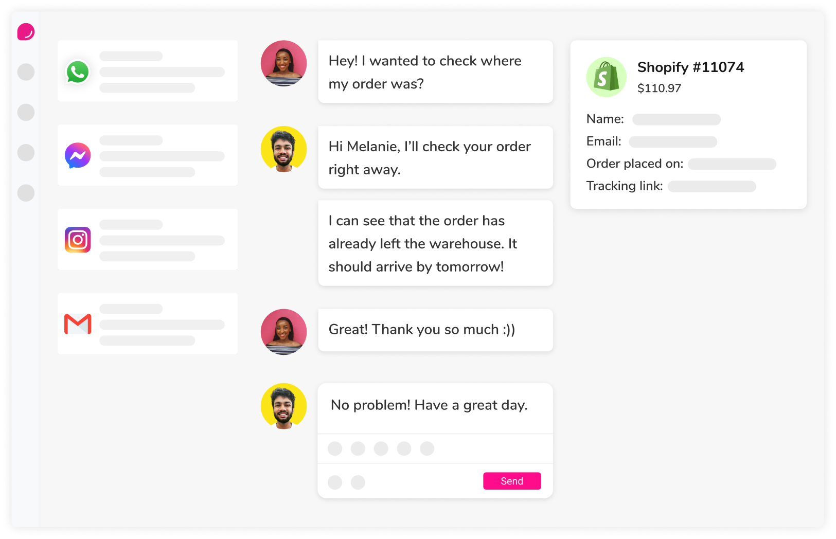 Beautiful Customer Support Software for Ecommerce Stores   DelightChat