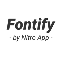 Fontify ‑ Use any font