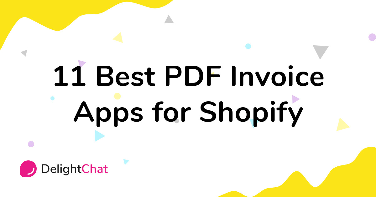 Best Shopify PDF Invoice Apps in 2021