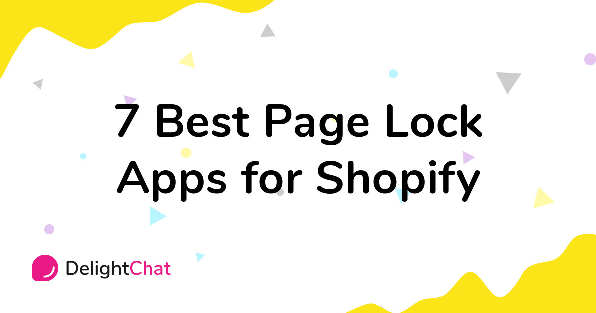 Best Shopify Page Lock Apps in 2021
