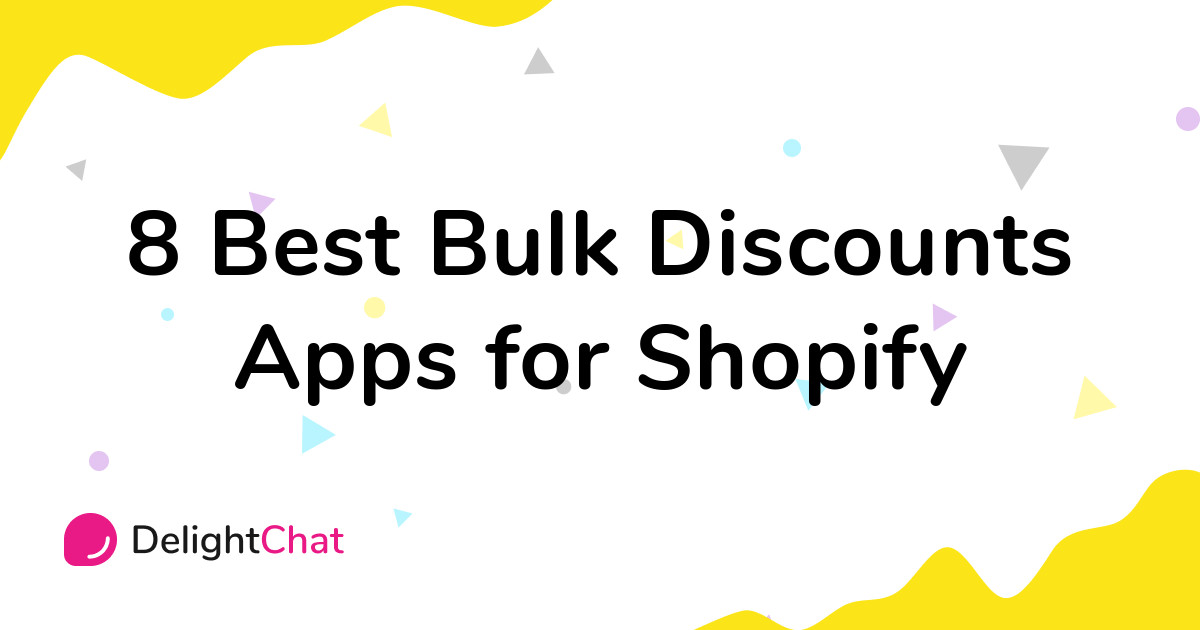 Best Shopify Bulk Discounts Apps in 2021