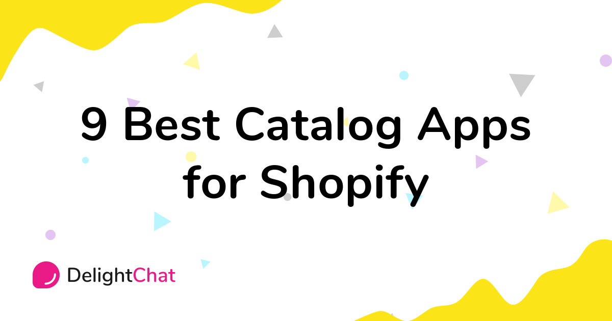 Best Shopify Catalog Apps in 2021