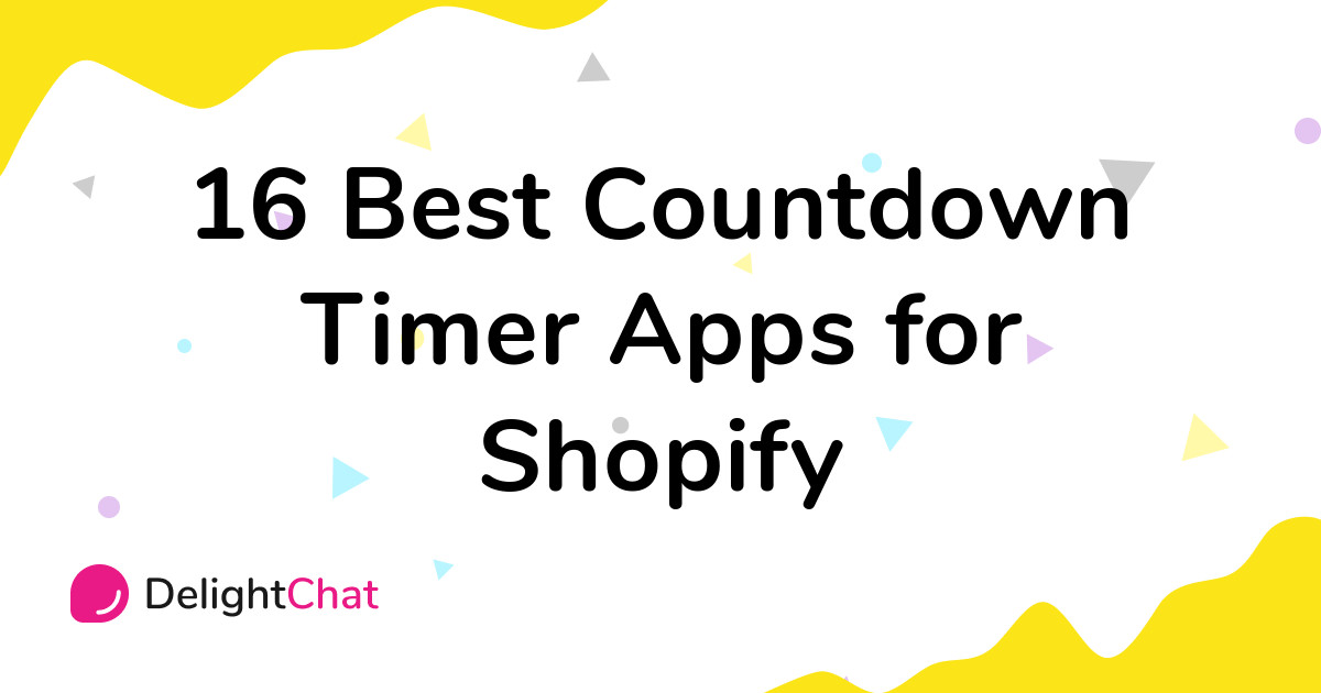 Best Shopify Countdown Timer Apps in 2021
