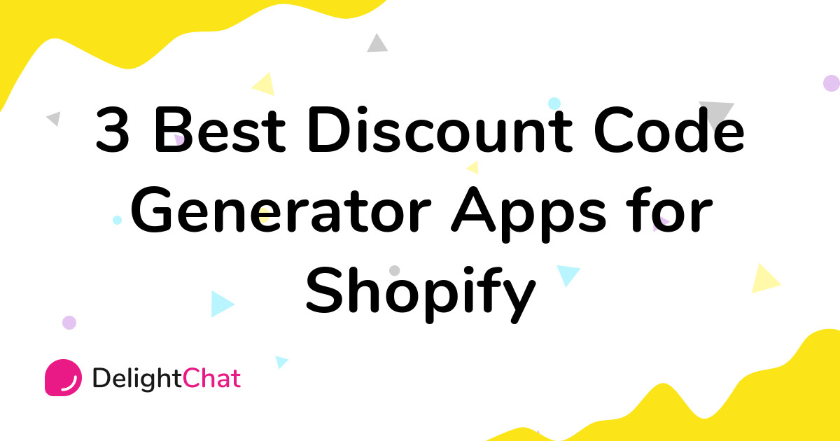 Best Shopify Discount Code Generator Apps in 2021