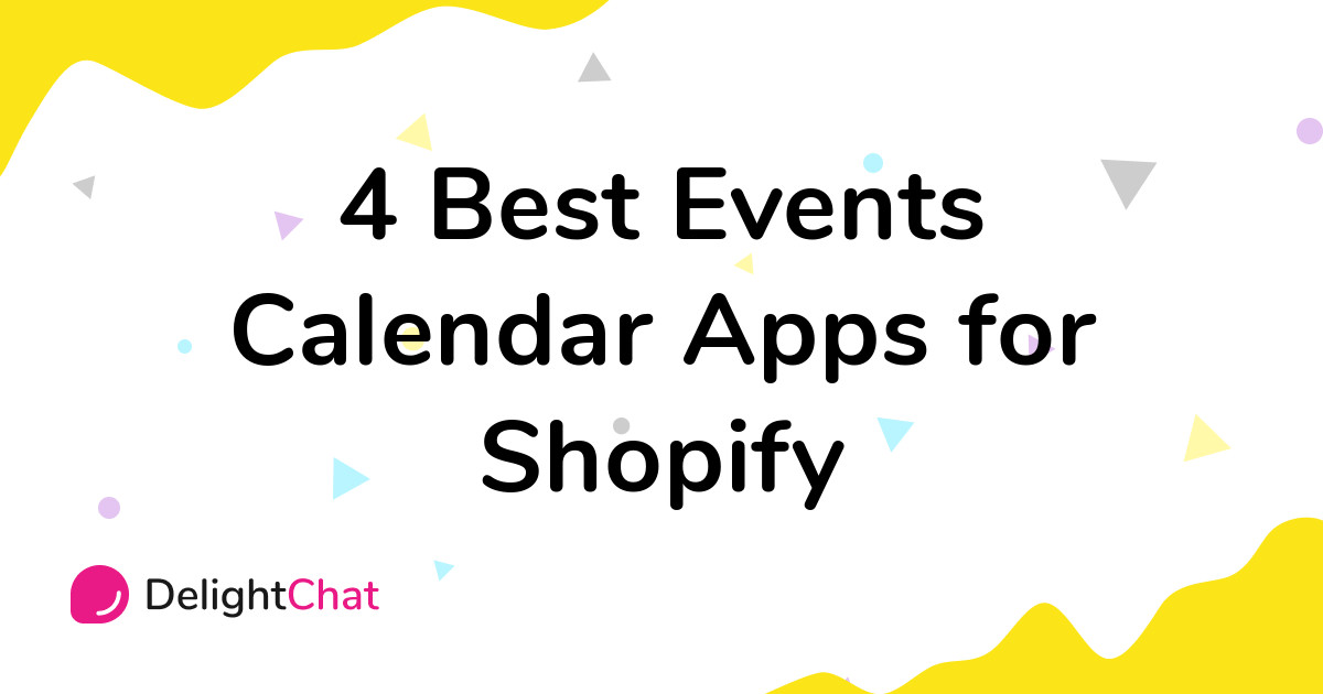Best Shopify Events Calendar Apps in 2021