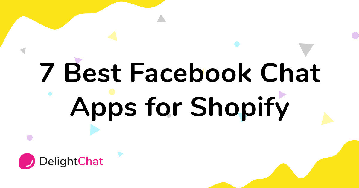 Best Shopify Facebook Chat Apps in 2021