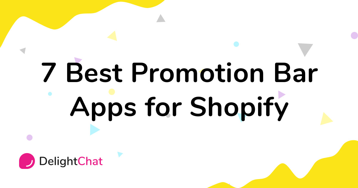 Best Shopify Promotion Bar Apps in 2021