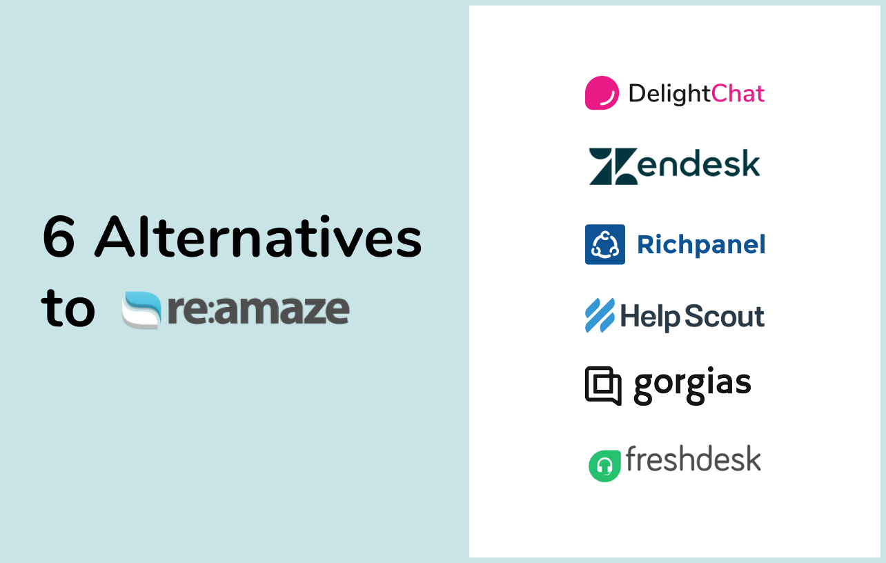 6 Reamaze Alternatives to Take Your Store's Customer Service to the Next Level