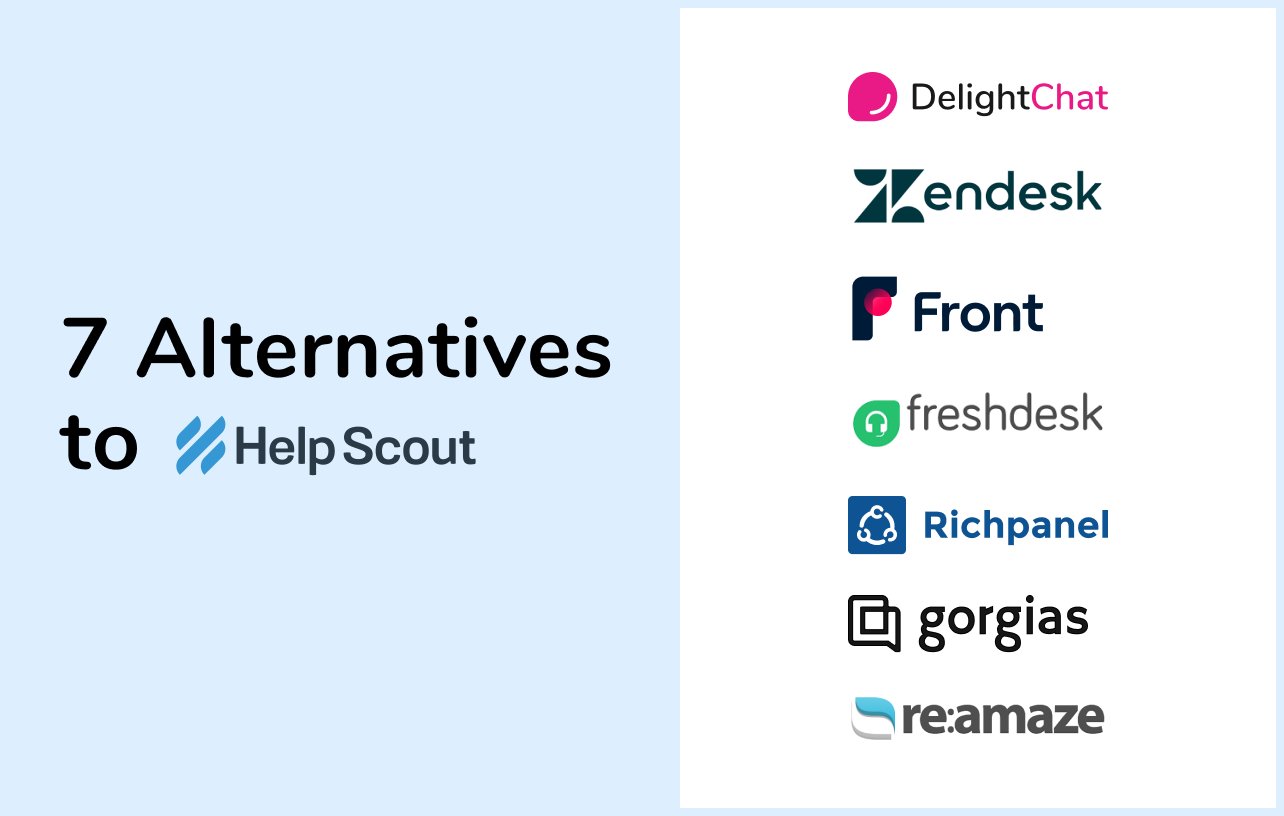 7 Help Scout Alternatives to Boost Your Store's Customer Service