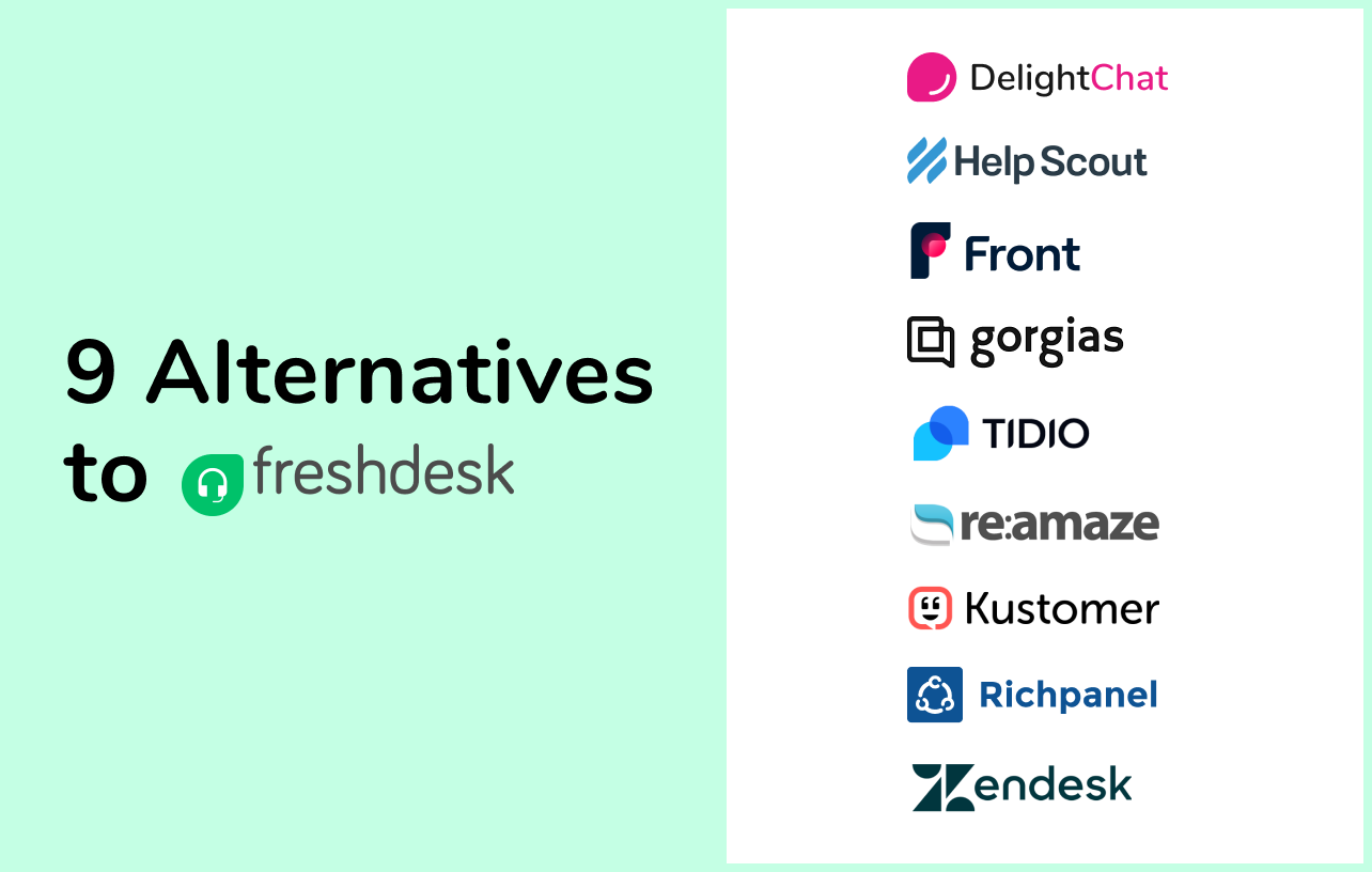 9 Freshdesk Alternatives to Advance Your Store's Customer Service
