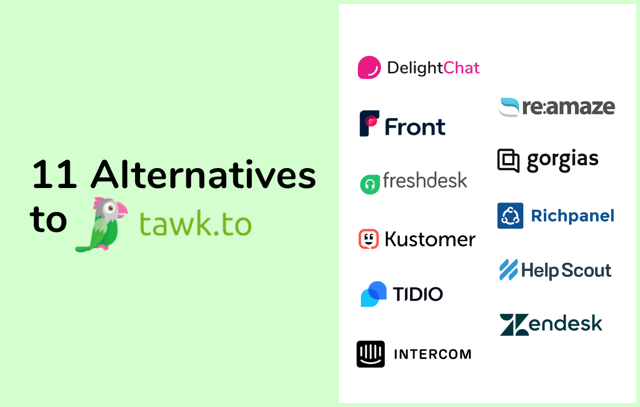 11 Tawk.to Alternatives to Advance Your Store's Customer Service
