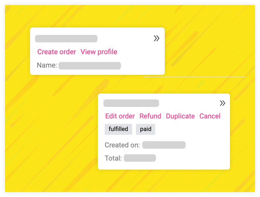 Modify orders on-screen with deep Shopify integration