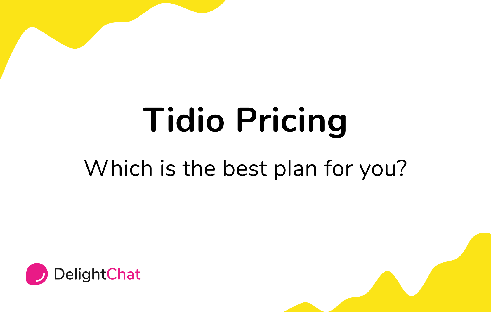 Tidio Pricing: Which is the Best Plan for You?