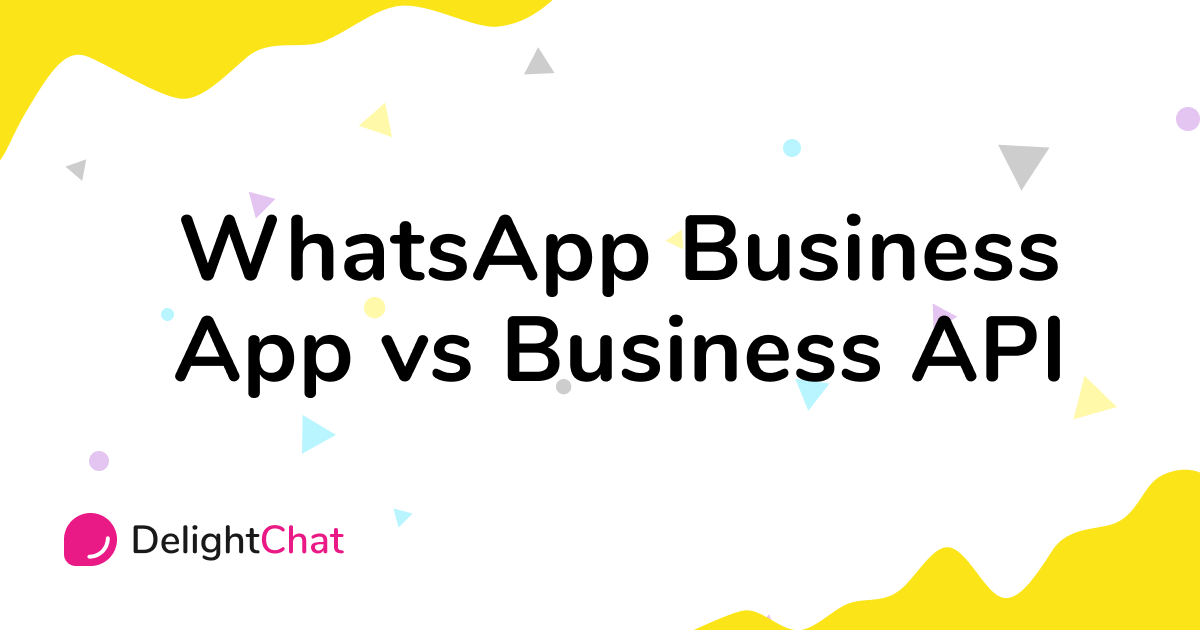 Differences Between WhatsApp Business App vs API