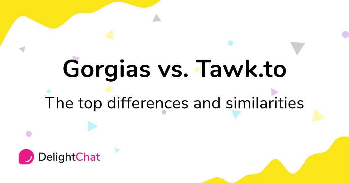 Gorgias vs. Tawk.to: Top Differences and Similarities