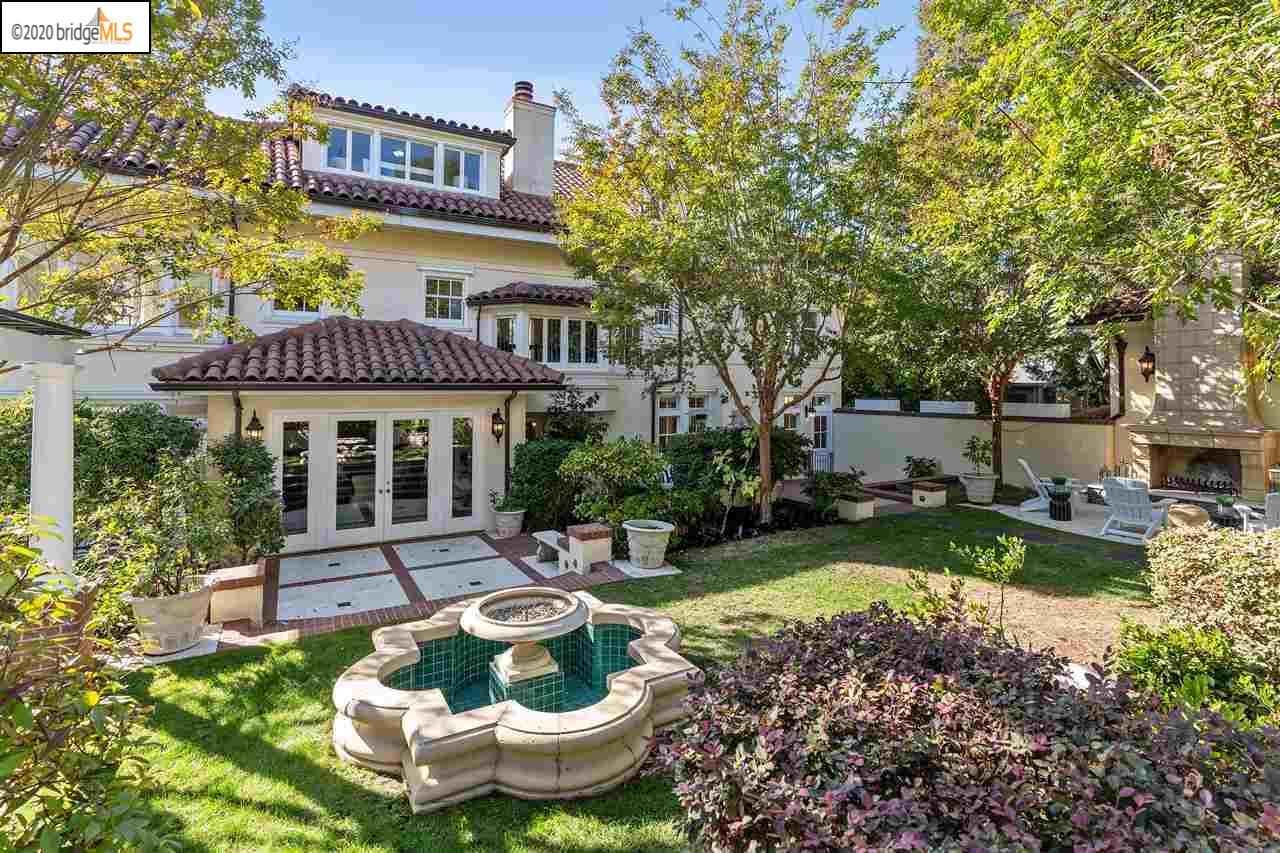 Ghirardelli Mansion backyard