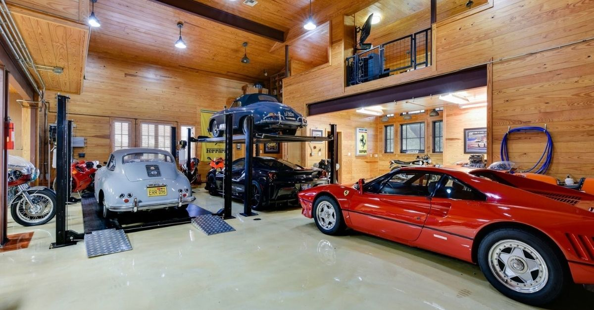 2401 Portofino Ridge Drive in Austin Texas Whimsical Castle garage