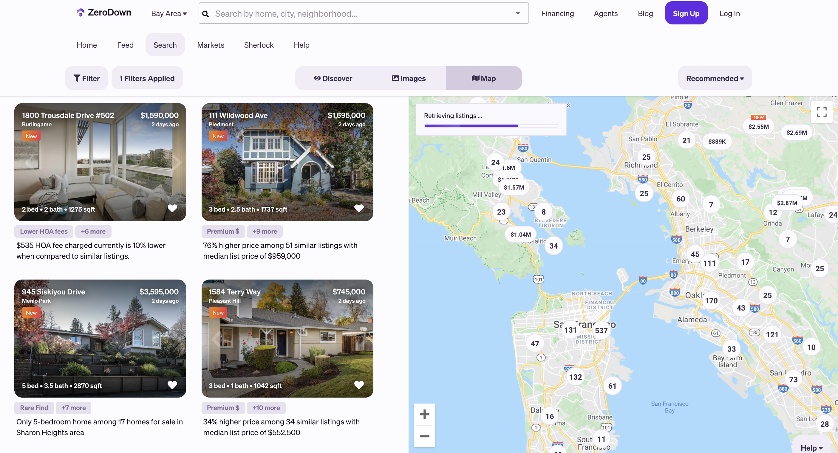 how to find homes for sale with 5g network coverage