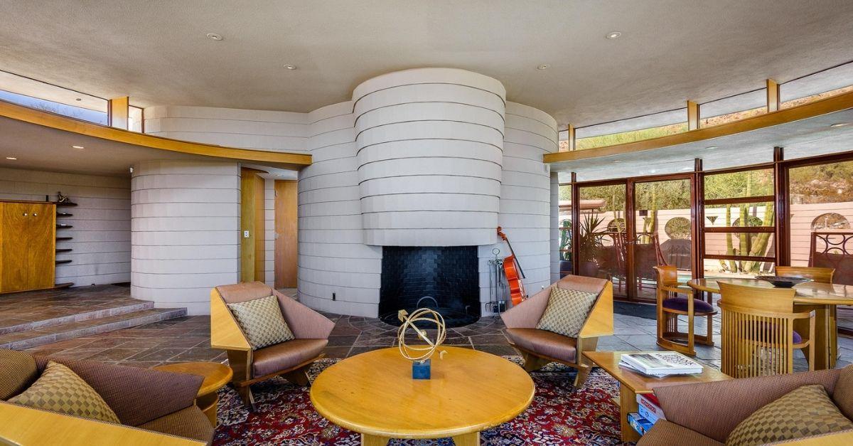 Frank Lloyd Wright Circular Sun House Norman Lykes House